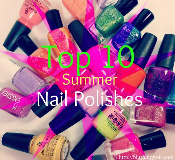 Top 10 Summer Nail Polishes