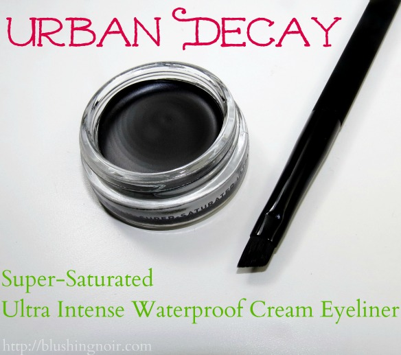Urban Decay Perversion Super-Saturated Ultra Intense Waterproof Cream Eyeliner Angled Brush