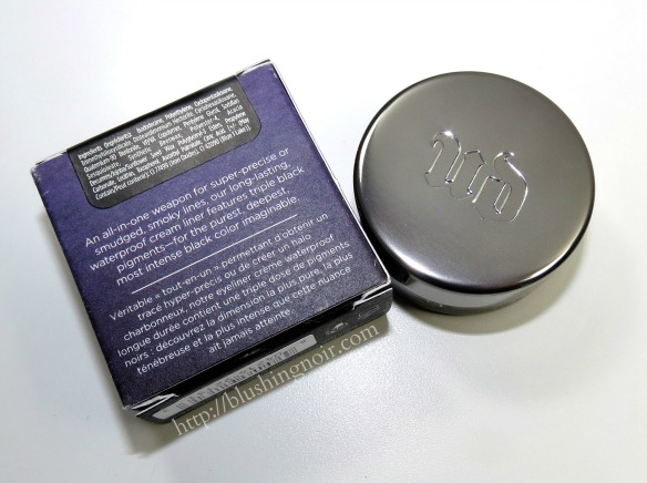 Urban Decay Perversion Super-Saturated Ultra Intense Waterproof Cream Eyeliner Ingredients