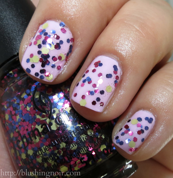 China Glaze Shine-nanigans Nail Polish Swatches - Blushing