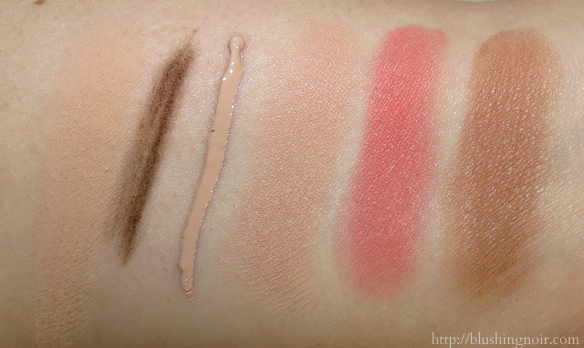 IT Cosmetics IT's All About You Collection Swatches