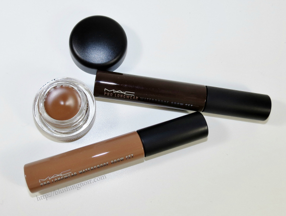 MAC Waterproof Brow Swatches Review
