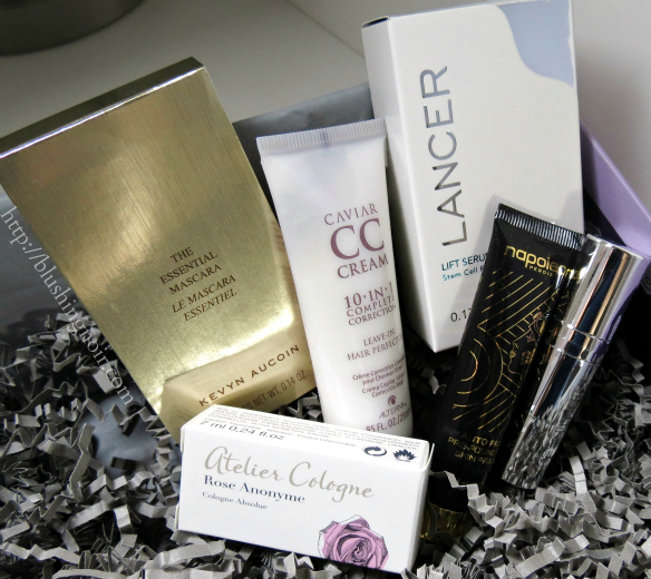 May 2014 GlossyBox Swatches Review