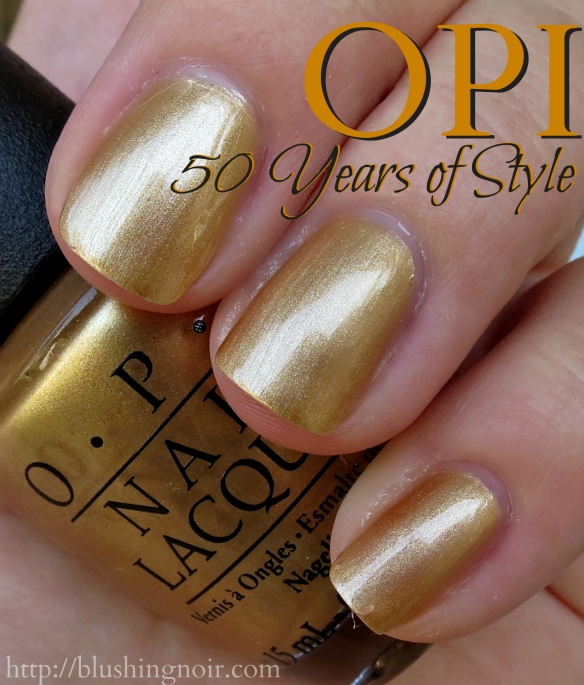 OPI 50 Years of Style Nail Polish Swatches