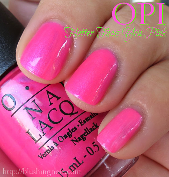 Neons by OPI Nail Polish Collection Swatches