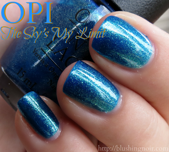 OPI The Sky's My Limit Nail Polish Swatches 2