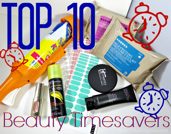 Top 10 Beauty Timesavers