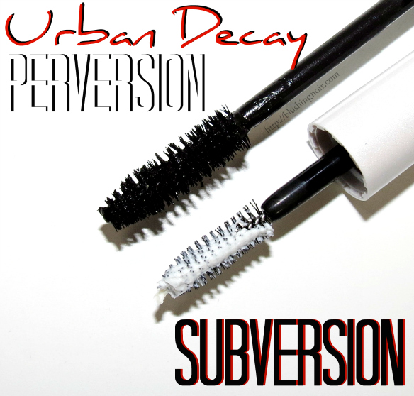 Urban Decay Perversion Mascara Subversion Primer Swatches Review