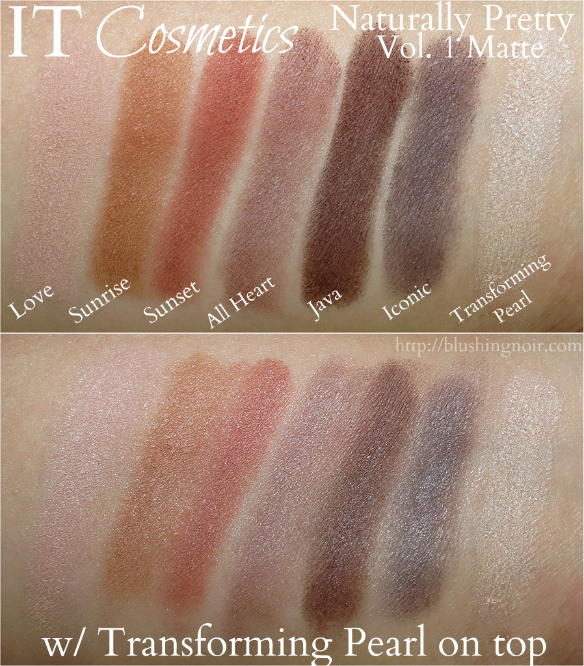 Naturally Pretty Matte Luxe Transforming Eyeshadow Palette by IT Cosmetics #15