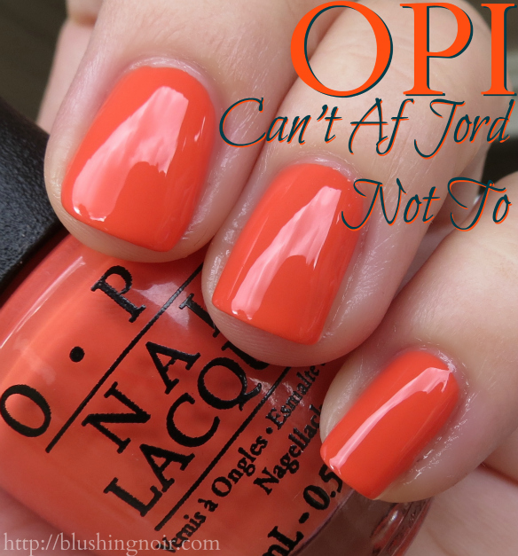 OPI Can't Af Jord Not To Nail Polish Swatches