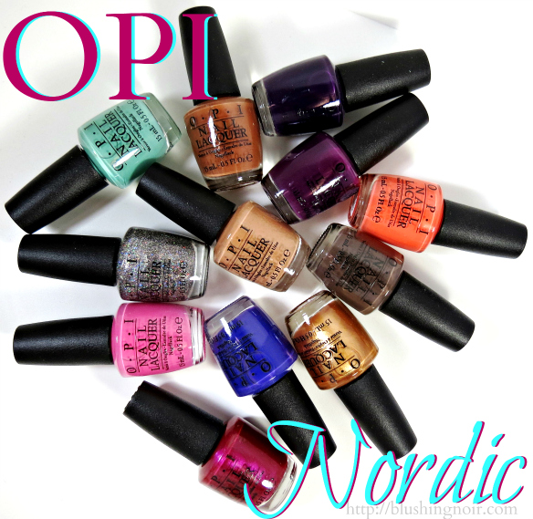 OPI Nordic Nail Polish Collection Swatches Review