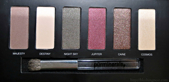 PUR Minerals Jupiter Ascending Eyeshadow Palette Review