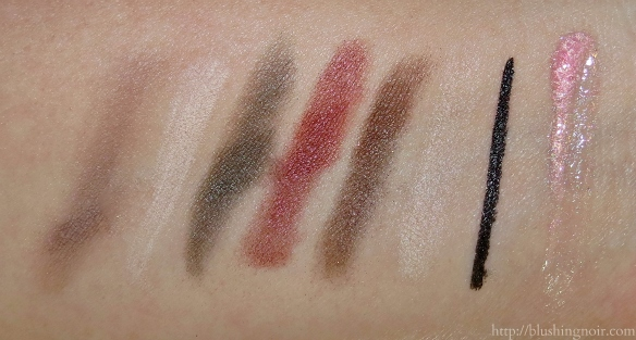 PUR Minerals Jupiter Ascending Swatches