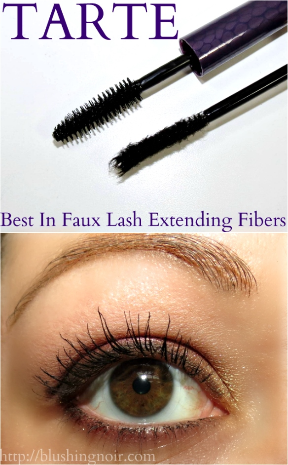 TARTE Best In Faux Lash Extending Fibers Swatches