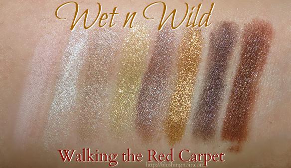 Wet N Wild Walking the Red Carpet Eyeshadow Palette Swatches