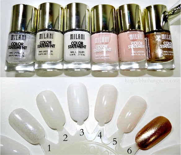 milani color statement nail polish swatches 1