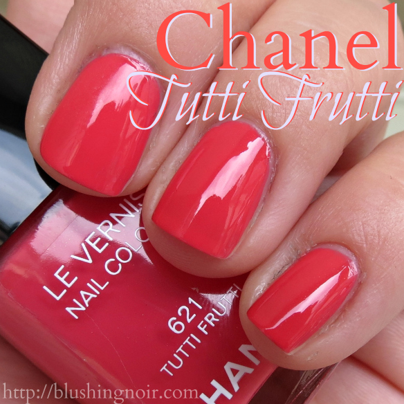 Tutti Frutti Nails: Chanel Tutti Frutti Le Vernis Nail Colour Swatches