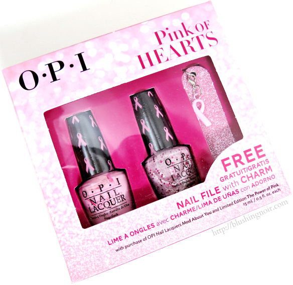 OPI Mod About You, The Power Of Pink Nail Polish Swatches