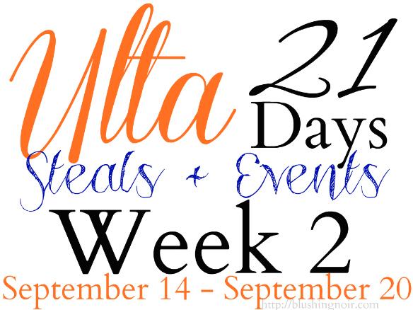 ULTA Beauty 21 Days of Beauty Deals Week Two