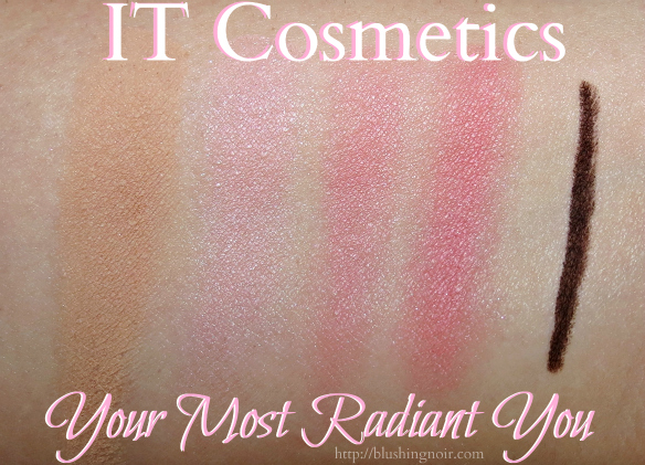 IT Cosmetics Your Most Radiant You Swatches