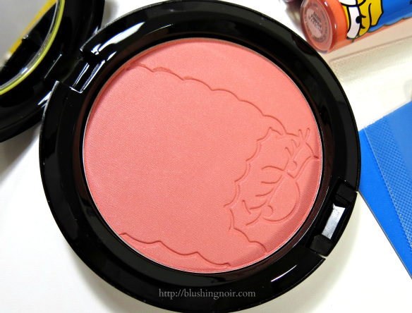 MAC Sideshow You Powder Blush Review #MACxMarge