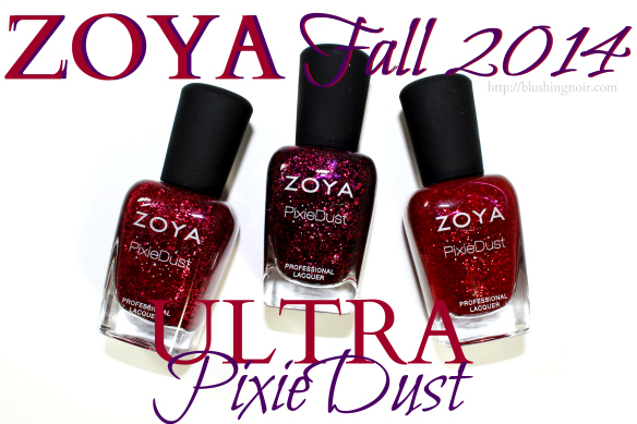 Zoya Ultra PixieDust Fall 2014 Swatches Review