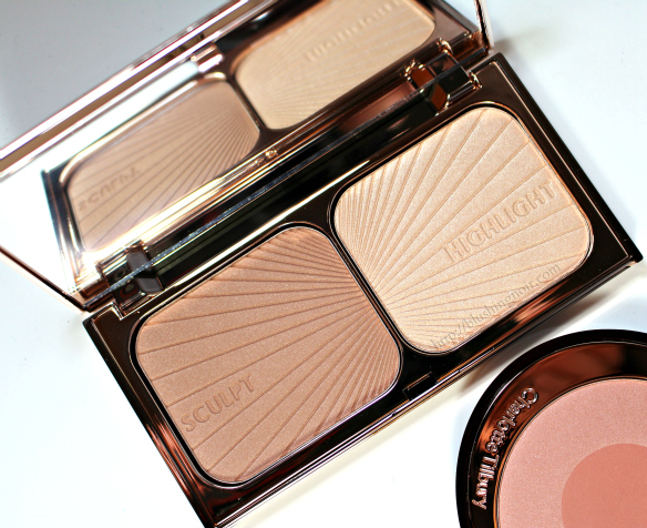 Charlotte Tilbury Filmstar Bronze & Glow Face Sculpt & Highlight swatches