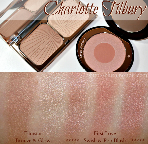 Charlotte Tilbury Filmstar First Love Blush Swatches