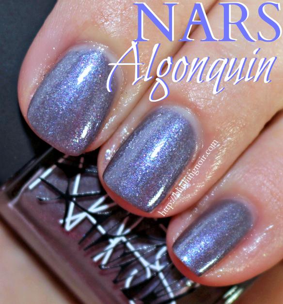 NARS Algonquin Nail Polish Swatches