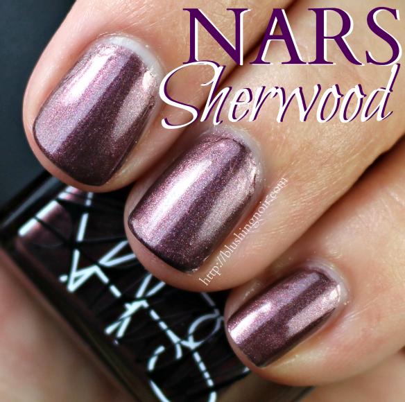 NARS Sherwood Nail Polish Swatches
