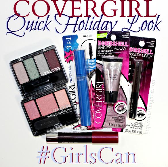 Quick Holiday Makeup