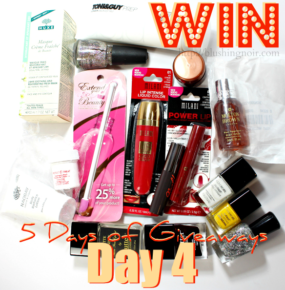 5 Days of Giveaways Day 4