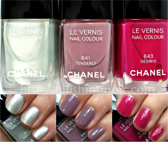 Chanel Collection Reverie Parisienne Le Vernis Swatches Review
