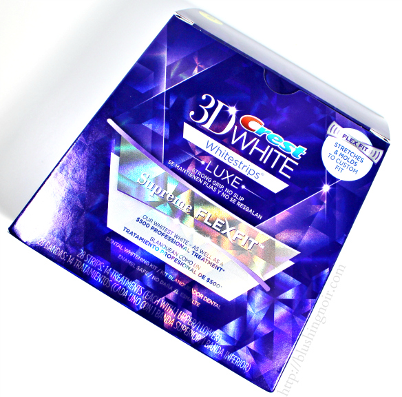 crest supreme whitening strips instructions