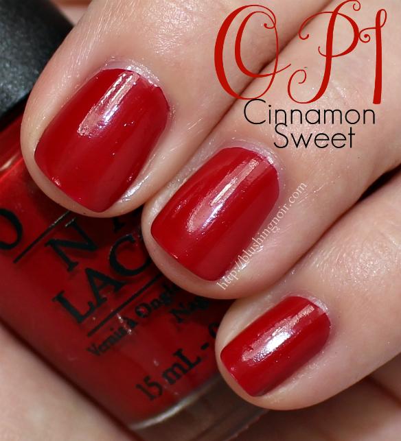 OPI Cinnamon Sweet Nail Polish Swatches