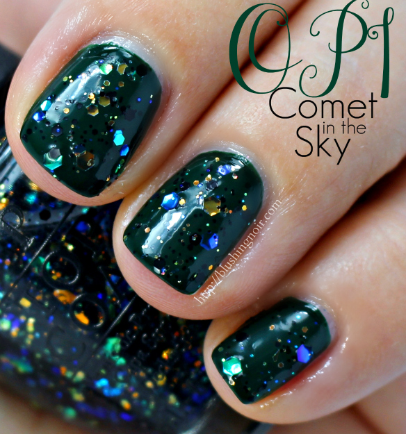 OPI Comet in the Sky Nail Polish Swatches