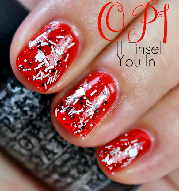 OPI I'll Tinsel You In Nail Polish Swatches
