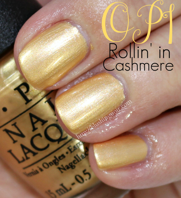OPI Rollin' in Cashmere Nail Polish Swatches