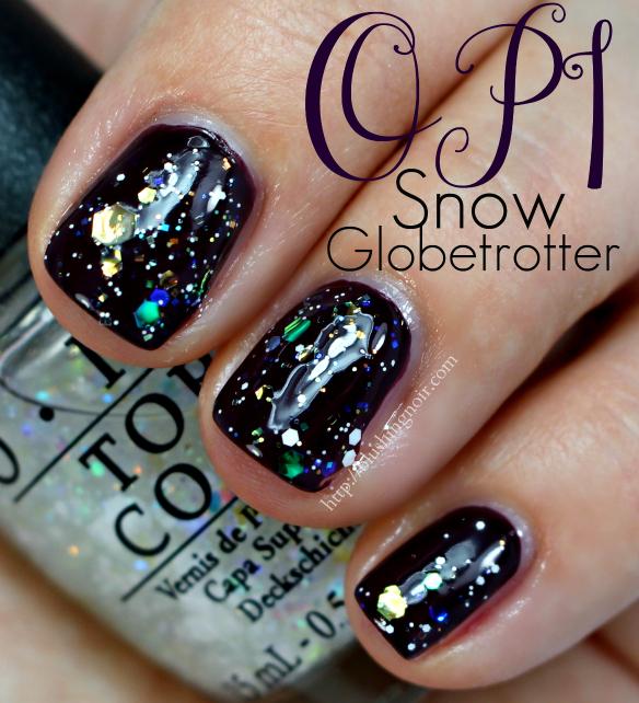 OPI Snow Globetrotter Nail Polish Swatches