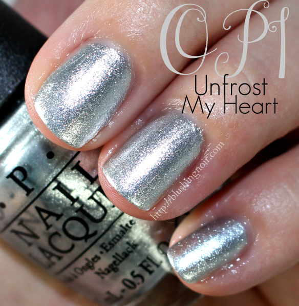 OPI Unfrost My Heart Nail Polish Swatches