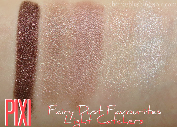 PIXI Fairy Dust Favourites Light Catchers Swatches Holiday 2014