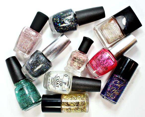 Top 10 Glitter Nail Polish 2014