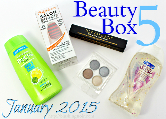 Beauty Box 5 January 2015 Review Photos Swatches