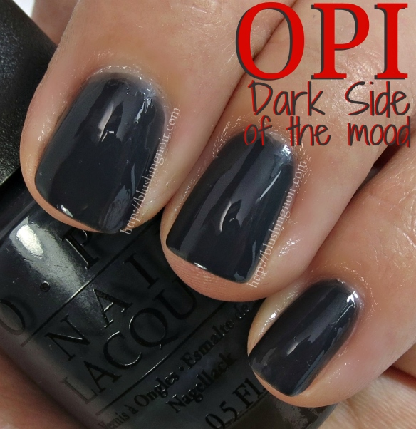 OPI Dark Side of the Mood Swatches