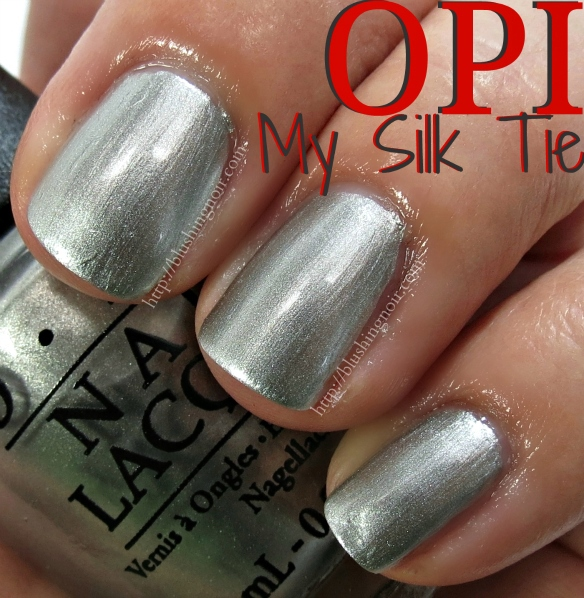 OPI My Silk Tie Nail Polish Swatches