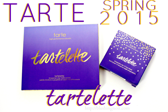 Tarte Spring 2015 Makeup Swatches Review