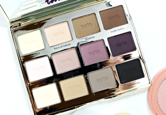 Tarte Tartelette eyeshadow palette spring 2015 swatches review