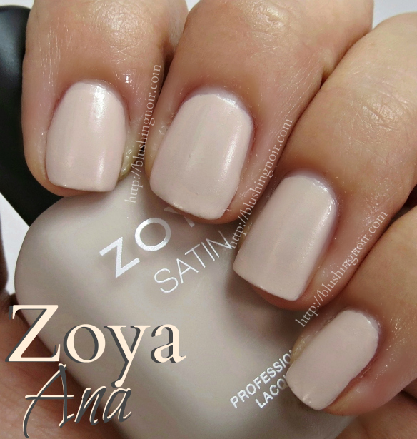 Zoya Ana Nail Polish Swatches