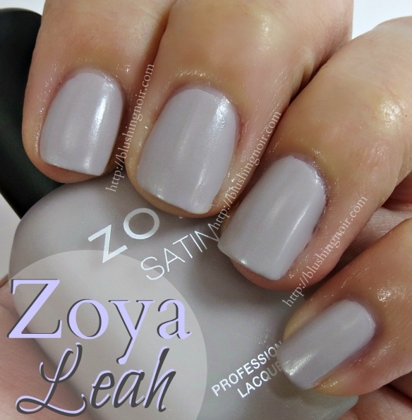 Zoya Leah Nail Polish Swatches
