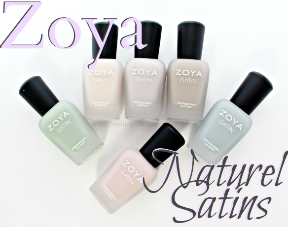 Zoya Naturel Satins Nail Polish 2015